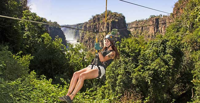A canopy tour with Wild Horizons