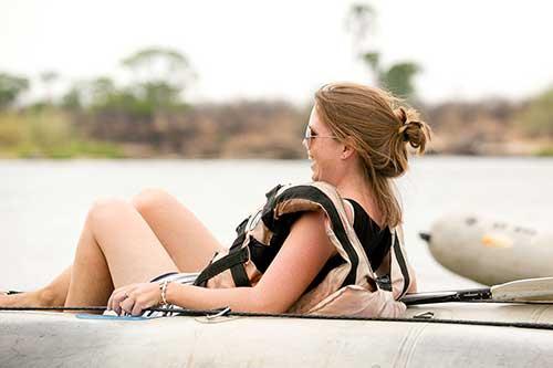 Canoe Trip up the Zambezi River