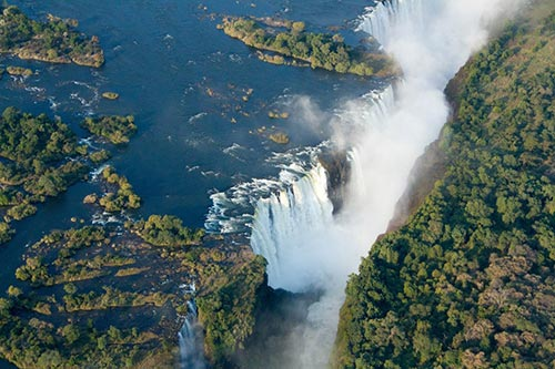 Victoria Falls: The natural variation of a natural wonder