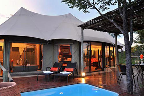 The Elephant Camp safari lodge accommodation