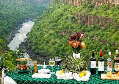 Things to do - Sundowners at Victoria Falls