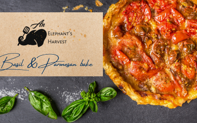 Basil & Parmesan bake with Homemade Tomato Jam