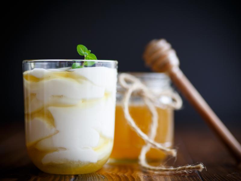 honey yogurt